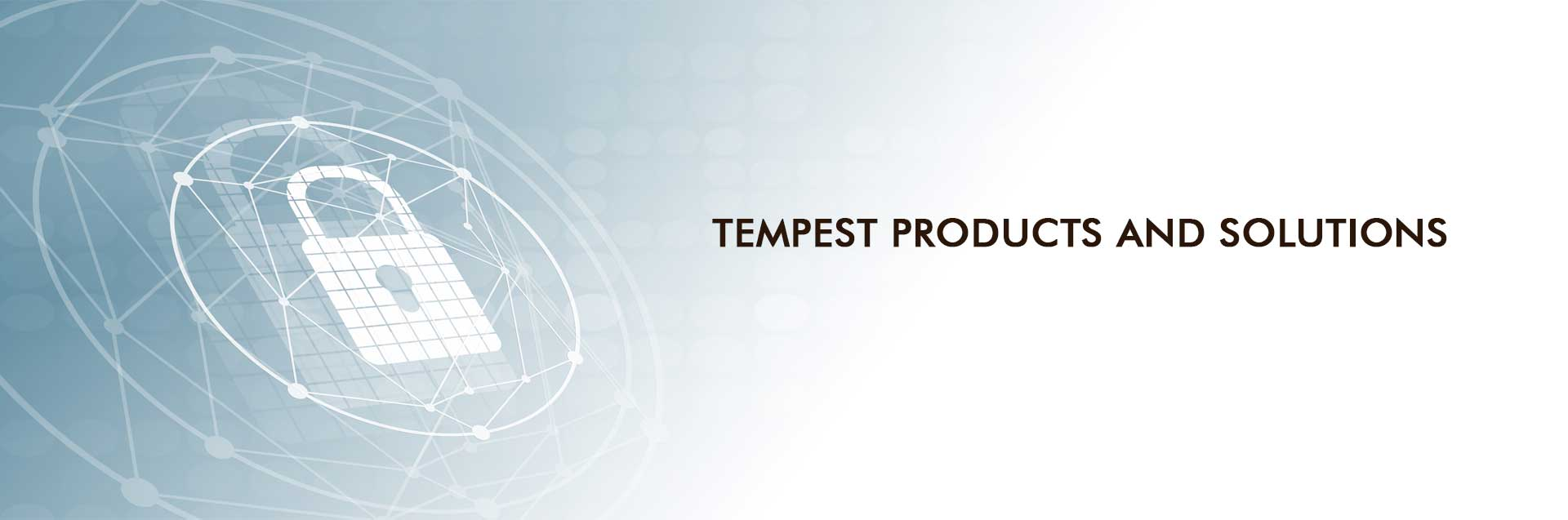 Tempest Security Products and Solutions