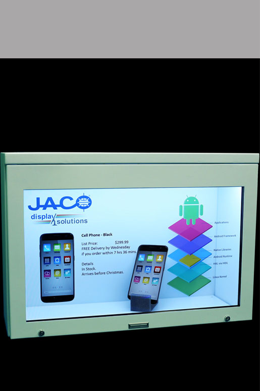 Transparent LCD Display Solutions